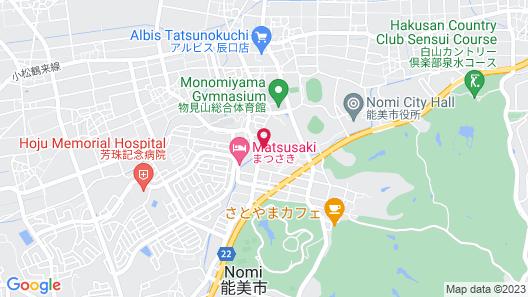 Tatsunokuchi Onsen Tagawa Ryusenkaku Map