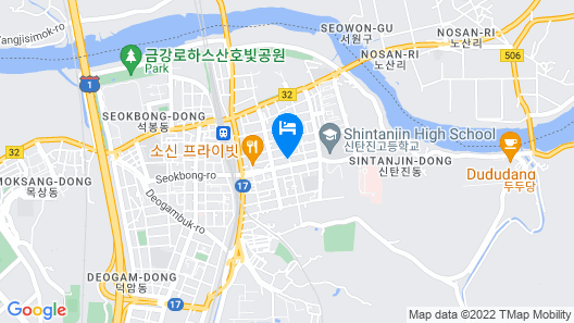 Daejeon Sintanjin Blue Map