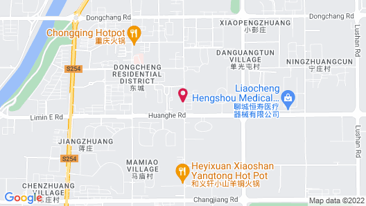 Atour Hotel Development Zone Liaocheng Map