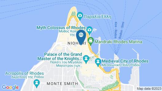 Rhodos Horizon City Map