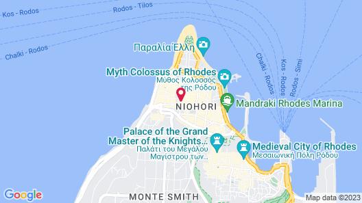 Atlantis City Hotel Map