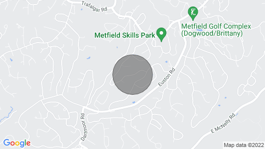 Family Friendly MTB House! Near Bentonville and Attractions Map
