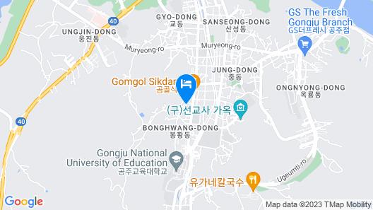 BongHwangJae Hanok Map