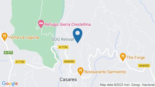 DDG Retreat Map