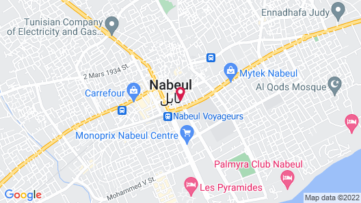 Dar El Gaied Map