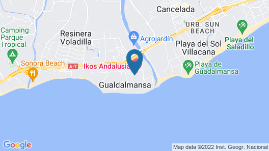 Ikos Andalusia - All Inclusive Map