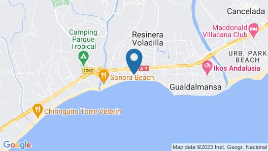 Casa Cachita - En 1ª línea de playa con maravillosas vistas Map