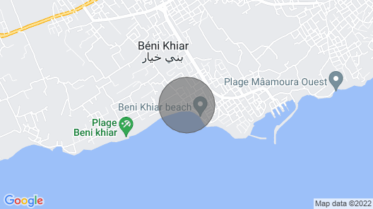 Airbetter - Stunning Sea View Duplex Beni Khiar Nabeul Map