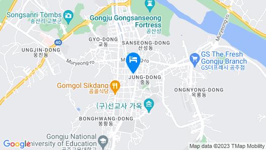 Gongju Einhaus Guesthouse 1 Map