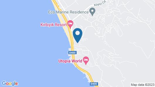 Konak Seaside Resort Map
