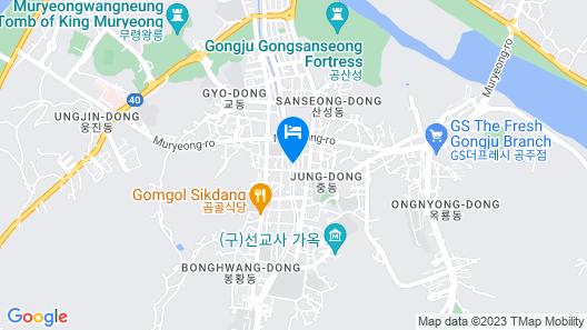 Gongju Einhaus Guesthouse 2 Map