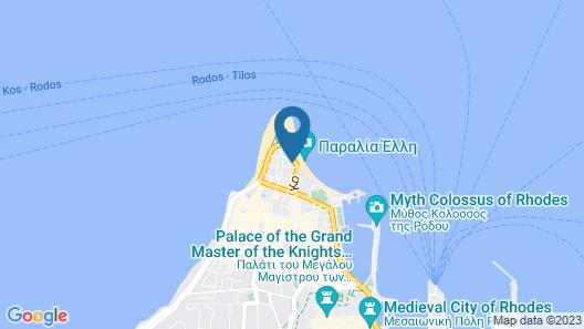 Hotel Mediterranean Map