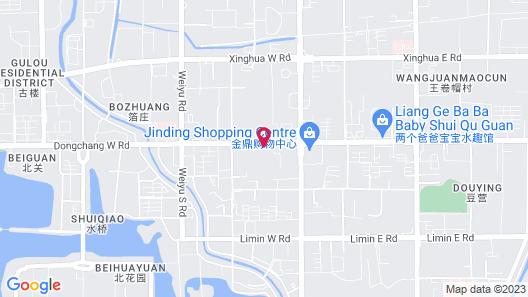 Holiday Inn Express Liaocheng Chiping, an IHG Hotel Map