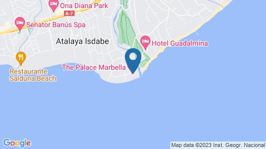 Villa The Palace Marbella Map
