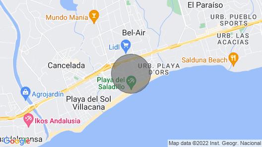 Luxury Villas of Costalita Marbella Map