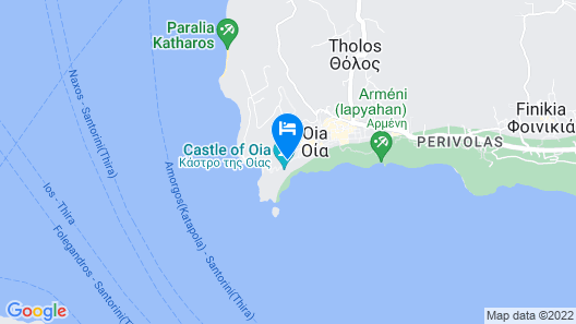 Theodora Suites - Adults Only Map