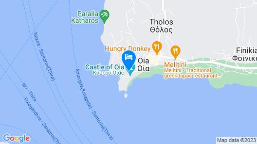 Oia Mare Villas Map