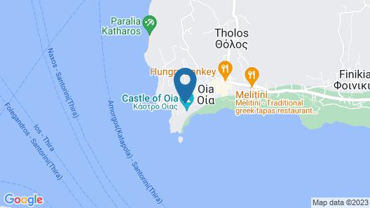 Villa Ariadni Map