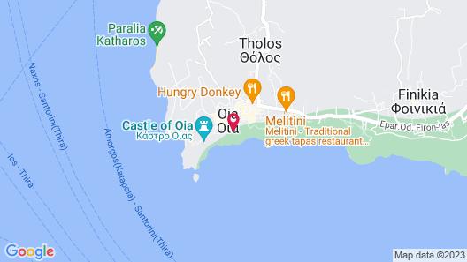 White Cave Villa by Caldera Houses Map