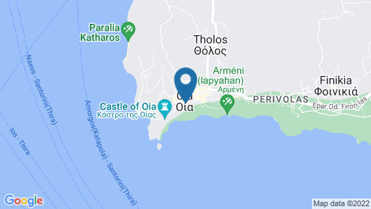Sophia Oia View Map