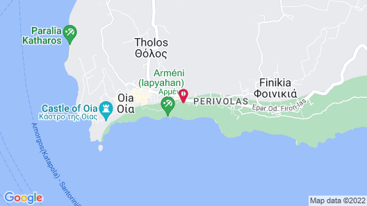 Canaves Oia Suites Map