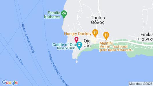 Marizan Caves & Villas Map