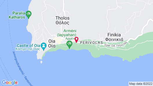 Canaves Oia Boutique Hotel Map