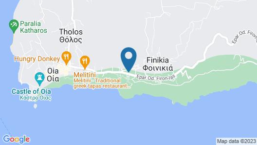 Perivolas Map