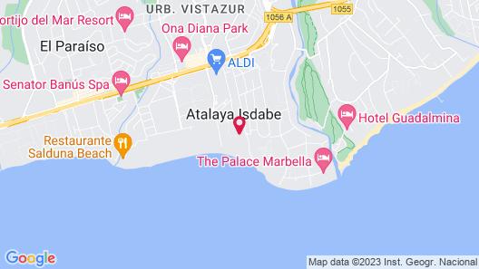 Globales Playa Estepona Map