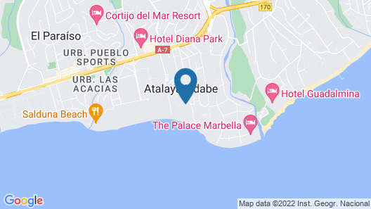 Globales Playa Estepona Map