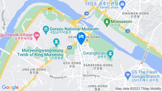 Gongju Khai Hotel Map