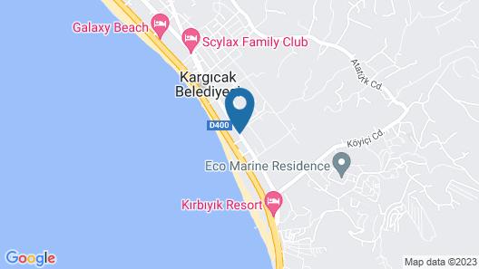 Drita Hotel Map