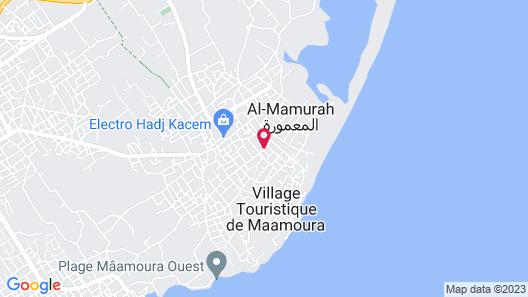Maamoura Beach House Map