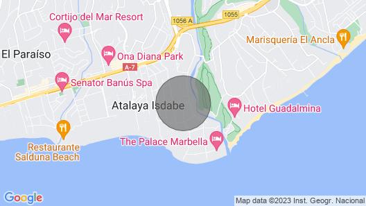 Semi-detached Guadalmina, Marbella Map