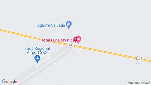 Hotel Luna Mystica Map