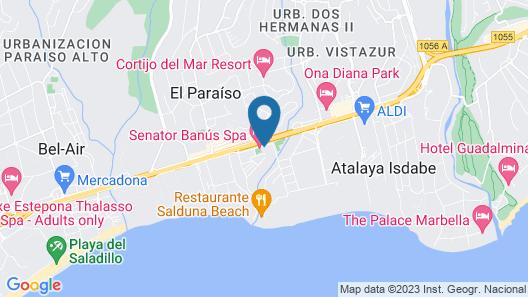 Senator Banus Spa Map