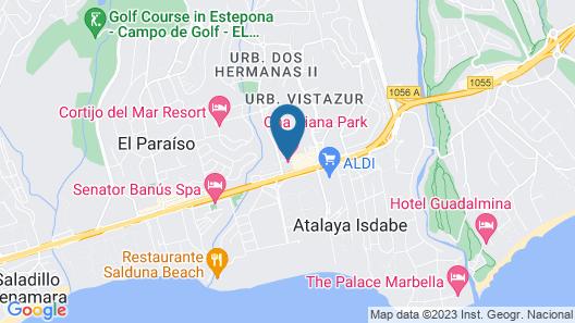 Hotel Diana Park Map