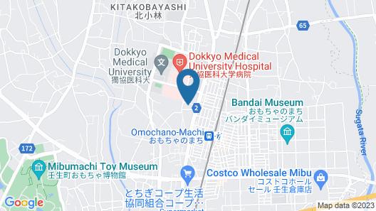 HOSPITAL INN Dokkyo Medical University Map