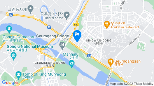 GONGJU INK  HOTEL Map