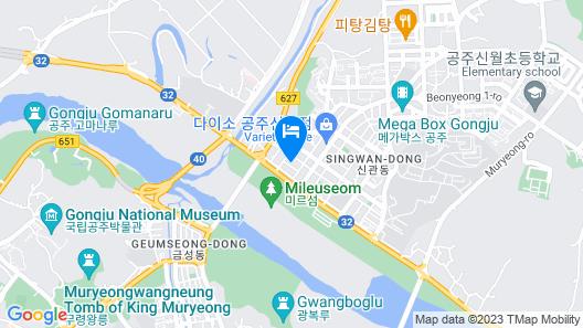 Hotel Gongju Map