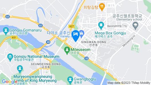 Gongju Hotel Geumgang Map