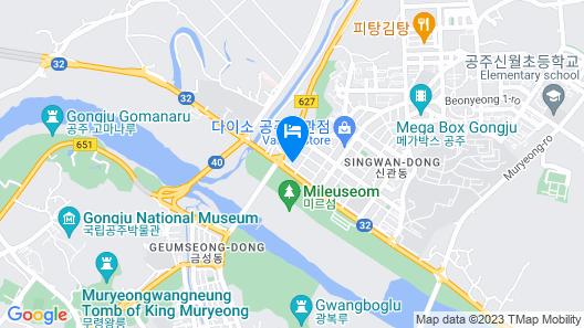 Gongju Fun and Fork Map