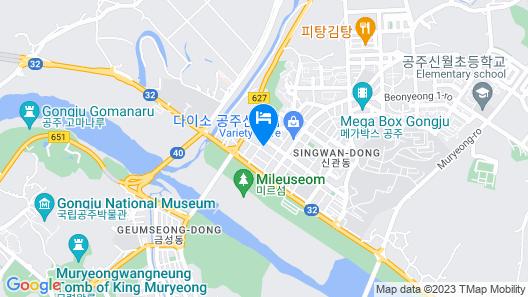 Gongju Maru Hotel Map