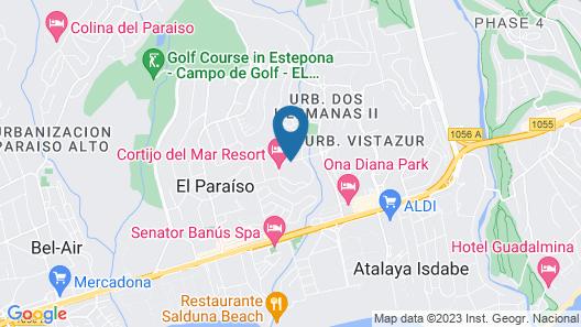 Cortijo del Mar Resort Map