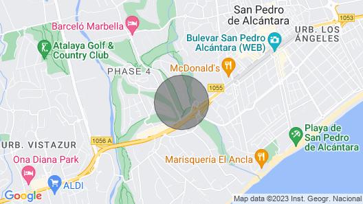 Apartment in Gualdalmina (Marbella) - Golf & Playa  Map
