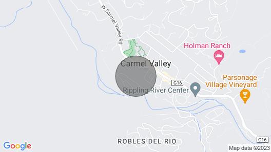 Lx3: Renaissance Carmel Valley Villa With Pool and Hot Tub Map