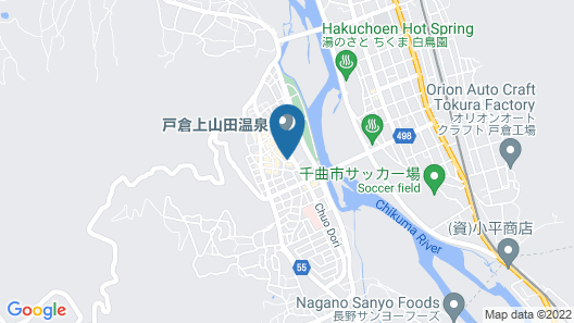Kamesei Ryokan Map