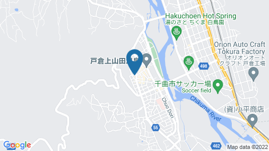 Hotel Route-Inn Kamiyamada Onsen Map