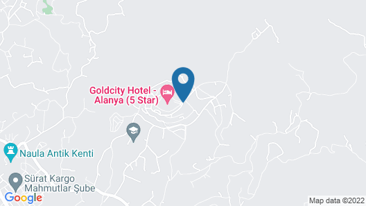 Goldcity Hotel Map
