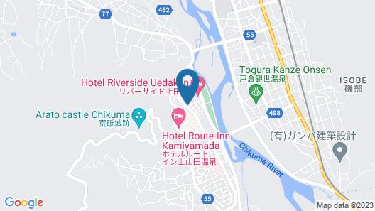 Hotel Kameya Honten Map